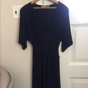 ASOS Pleated Midi Dress size 2